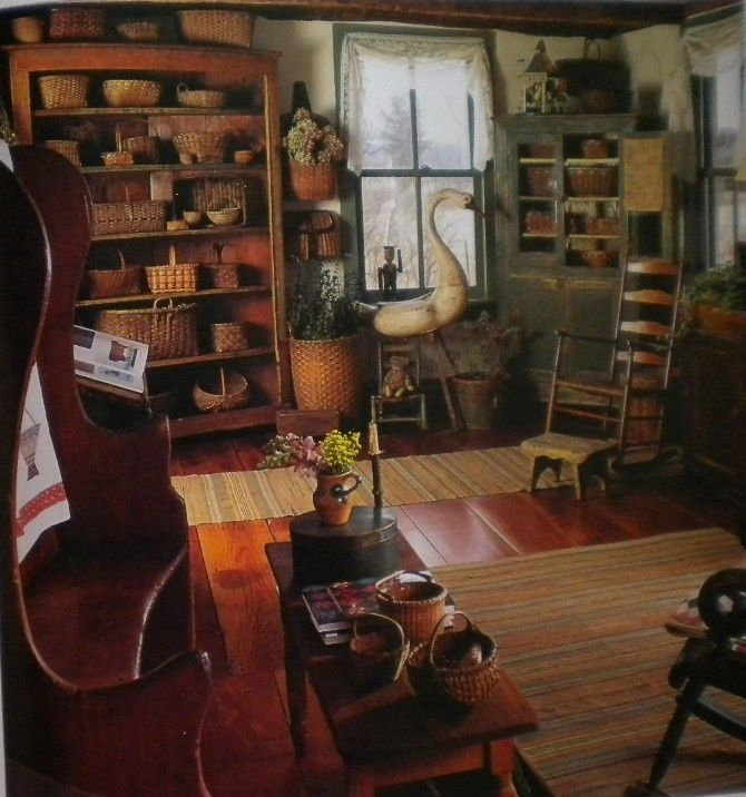 Primitive Decor Primitive Country Pinterest Great Rooms Rag Rugs And Hardwood Floors