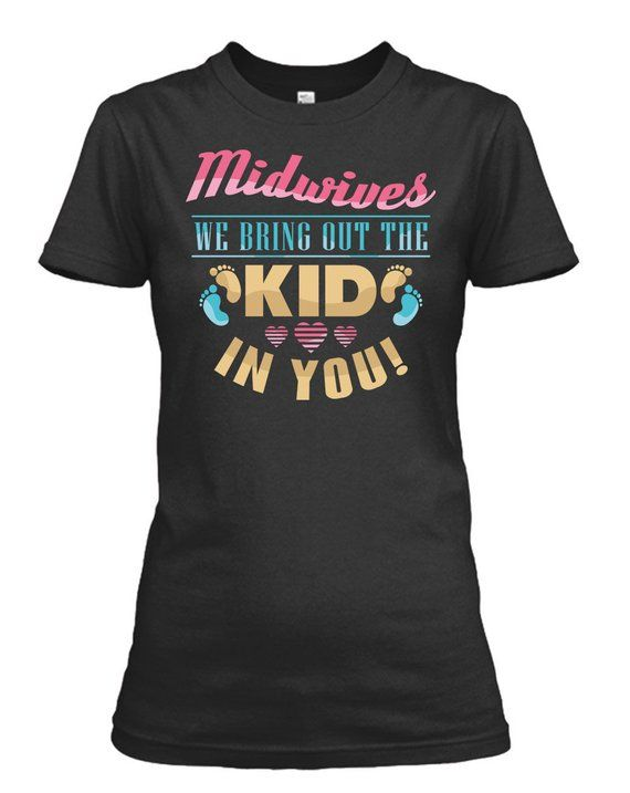 We Bring Out The Kid In You Funny Midwifery Gift Idea Midwife Present Midwife Water Bottle