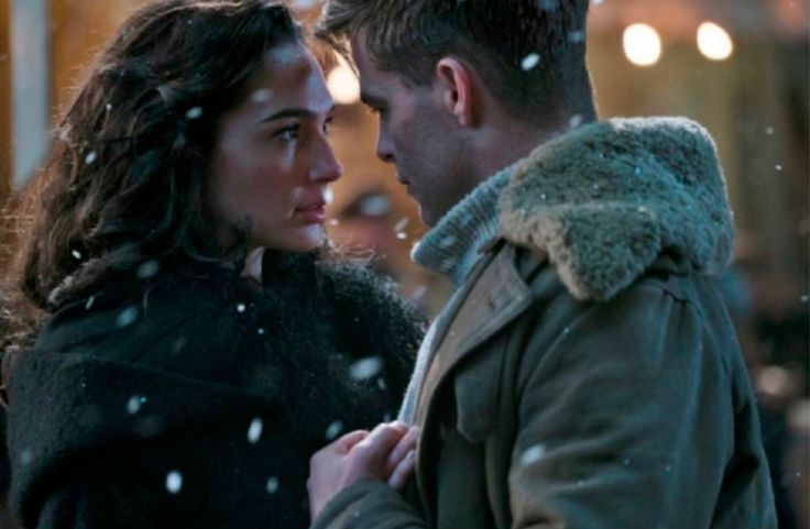 "Chris Pine and Gal Gadot in ""Wonder Woman"""