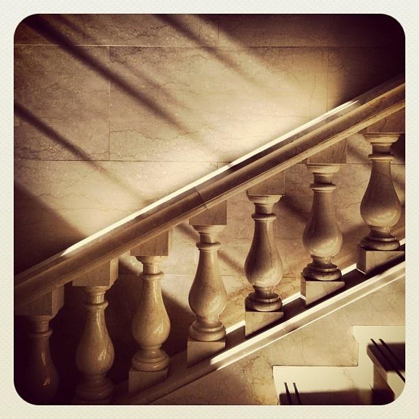 .@Trent Perrett   Day 146 365/2013  #365daysphotography #stairs #statelibrarynsw #sydney #austr...