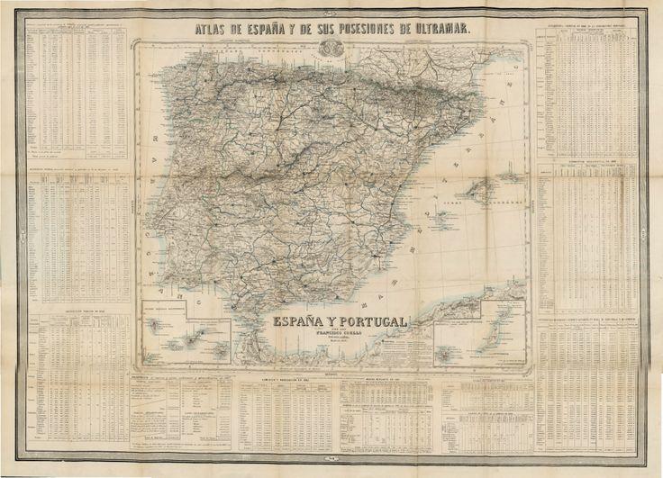 España y Portugal por Francisco Coello