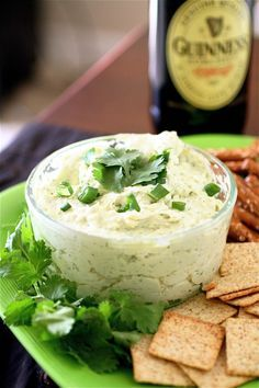 Guinness and Cheddar Dip Just in time for St. Patrick's Day!  http://www.thecurvycarrot.com/2012/01/30/guinness-and-cheddar-dip/