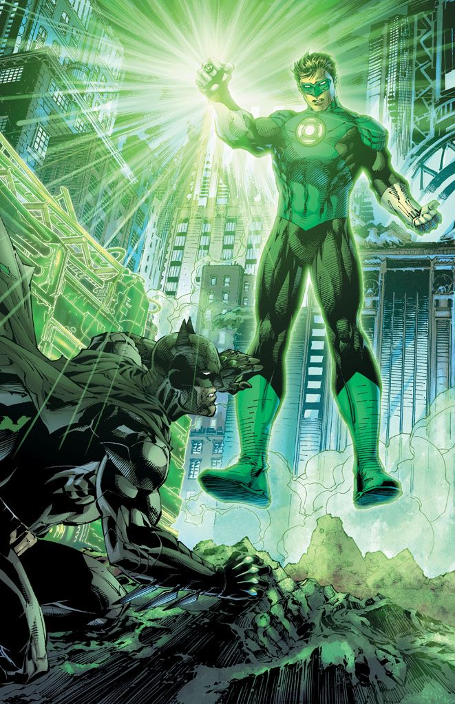 Batman & Green Lantern