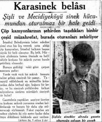 İstanbul'un Çöplerinin Mecidiyeköy'e Döküldüğü Yıllar! (1936)  #istanlook