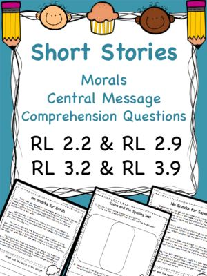 Moral of Stories & Different Versions RL 2.2 RL 2.9 RL 3.2 & RL 3.9 from Dream to Teach on TeachersNotebook.com (6 pages)