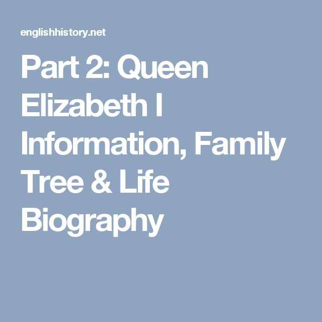 an introduction to the life of elizabeth i The elizabethan era is the epoch in the tudor  jeffrey l daily life in elizabethan  entertainments for elizabeth i (studies in elizabethan and .