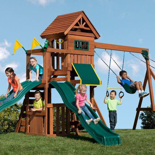 Yardline Play Systems Timber Peak Playset
