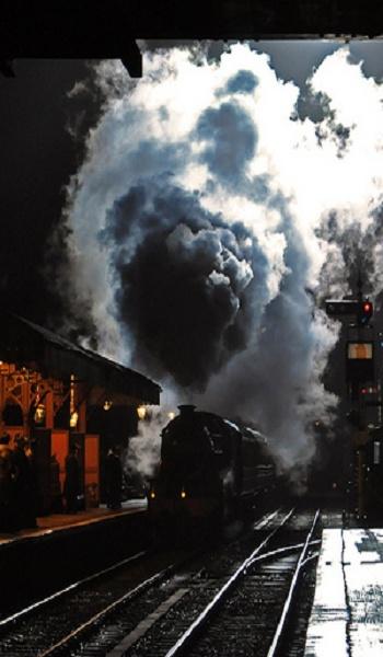 Night train - steam