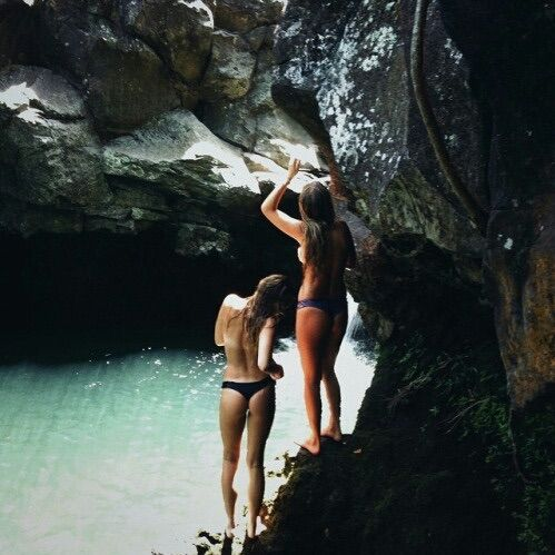 Image via We Heart It #bikini #girls #nature #paradise #photography #travelling #bestfriends #love