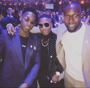 Singer Wizkid Tinie Tempah Show Up At Brits Awards 2018 In Style (Pics & video)