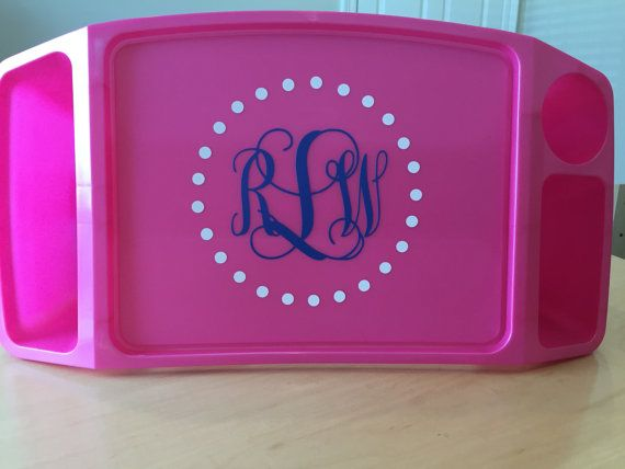 This lap tray is, by far, the most versatile kiddo item in my house! The large tray area is great for snacks, coloring pages, puzzles, toys, and on the go in the CAR! The tray has two compartments for storage as well as a cup holder. This tray comes in yellow, pink and orange. Not