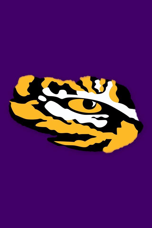 LSU Tiger Eye LSU Tiger Eye Logo 640 x 960 art work