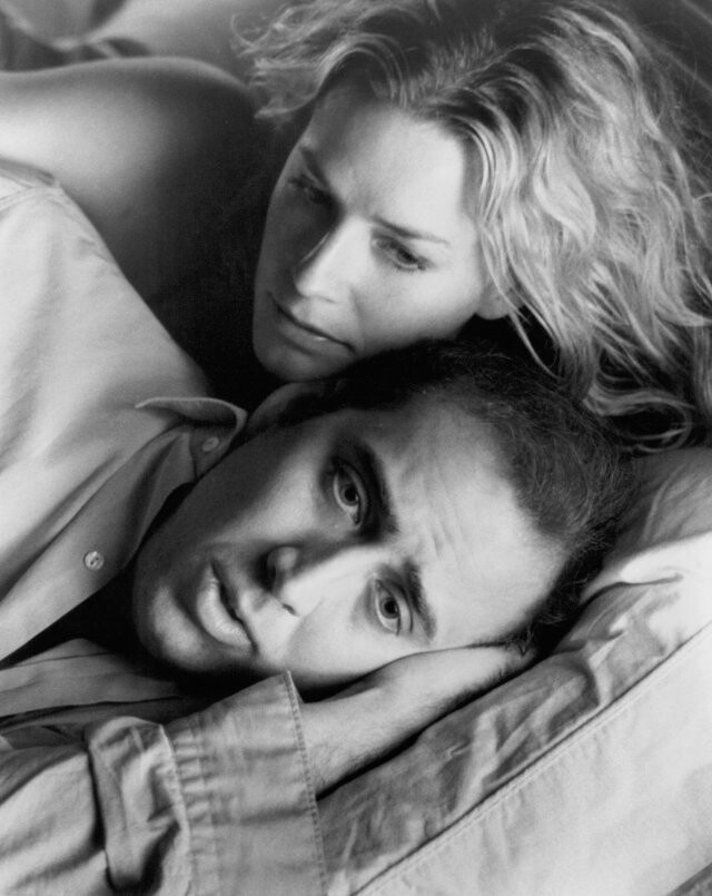 "A favorite of mine, ""Leaving Las Vegas"", 1995. Nicholas Cage and Elizabeth Shue. Cage won the Oscar for Best Actor that year, and deservedly so! Not a huge Cage fan, but this is his best role ever. Great movie!"