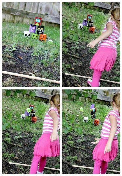 Handmade Halloween Game for Kids
