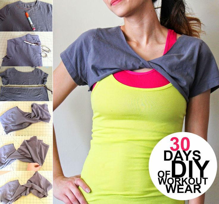 30 Days of DIY Workout Wear: Day 4