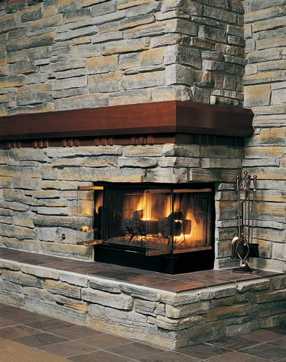 58 best images about rock fireplaces on pinterest fire pits fireplace hearth and mantles. Black Bedroom Furniture Sets. Home Design Ideas
