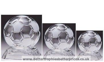 Ovation Football Crystal #Award