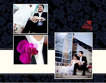 Wedding Damask 8x11 Photo Book