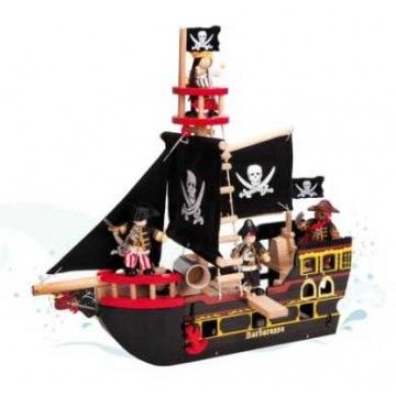 Le Toy Van - Barbarossa Pirate Ship #Entropywishlist #pintowin : Just cos i kinda love this...maybe the kids would get on board too