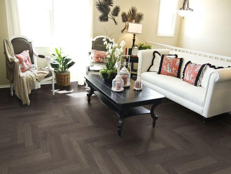 Perfect Herringbone   Versatile Yet Unique Flooring Option. Unique FlooringFlooring  OptionsSmall Living Room ... Part 28