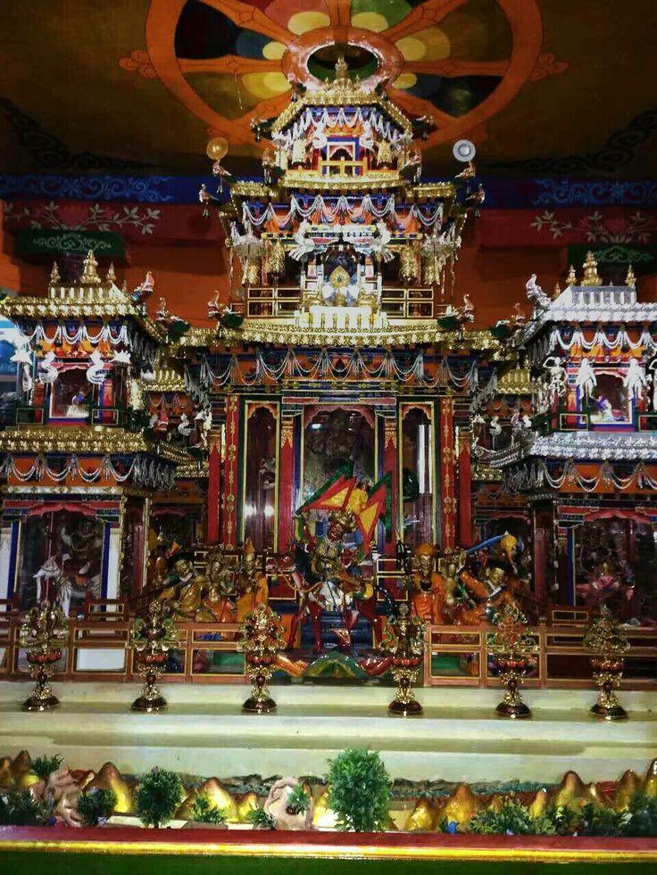 3D #Mandala of Dorje Shugden in #Tibet