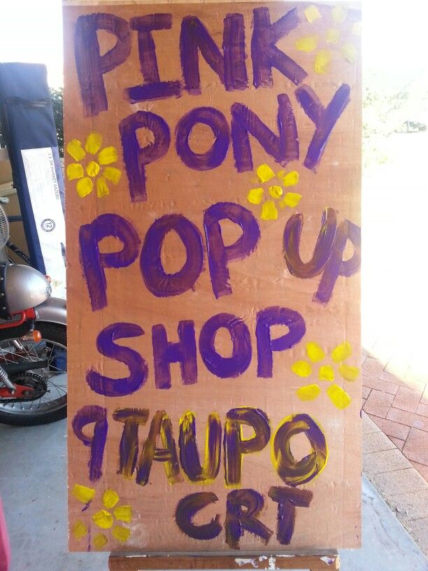 Pop in to the pop up