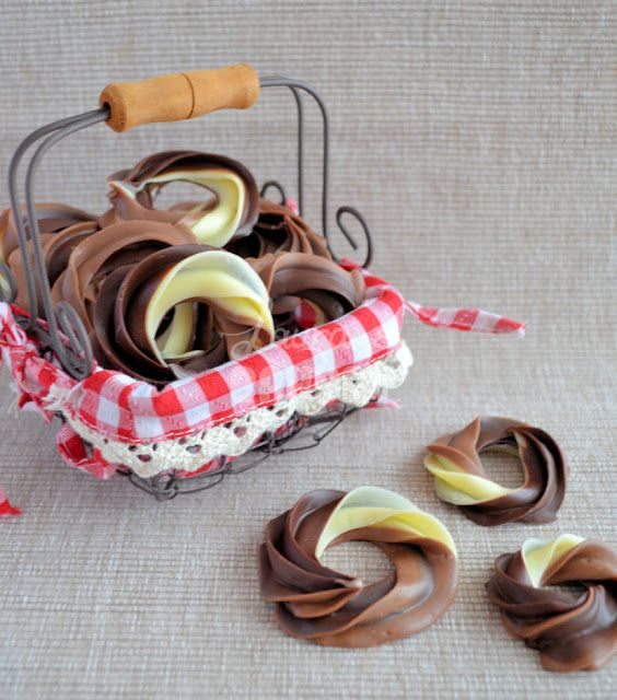 Driedubbele chocolade kerstkransjes - Laura's Bakery