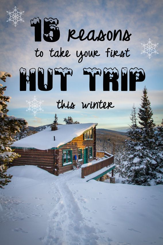 I know I'm ready for my first backcountry hut trip! Are you?
