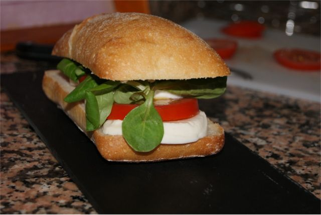 Bocadillo italiano