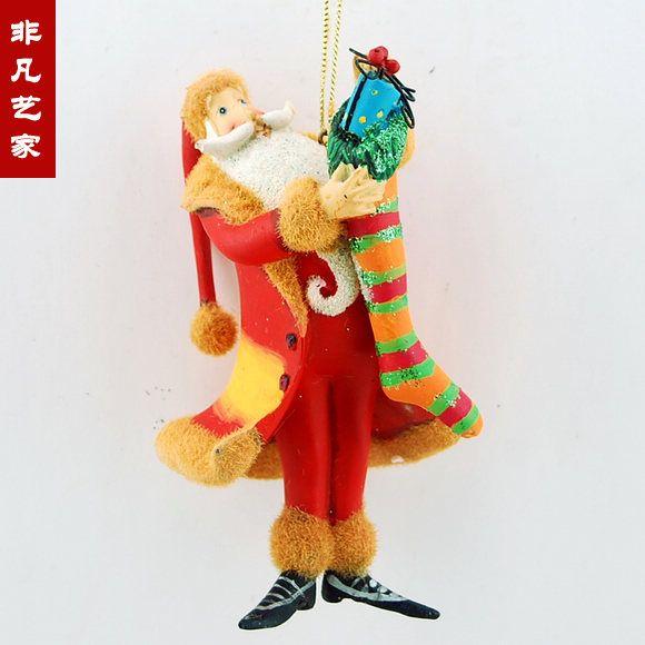 Ма Shiguang Санта смолы цветок подвесные украшения елочные украшения и декоративные Рождественская вечеринка - глобальная станция Taobao