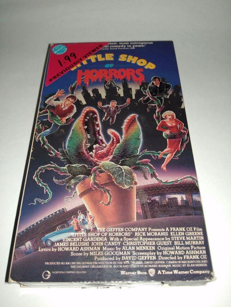 Little Shop of Horrors (VHS, 1994) Rick Moranis, Steve Martin VCR Movie Tape
