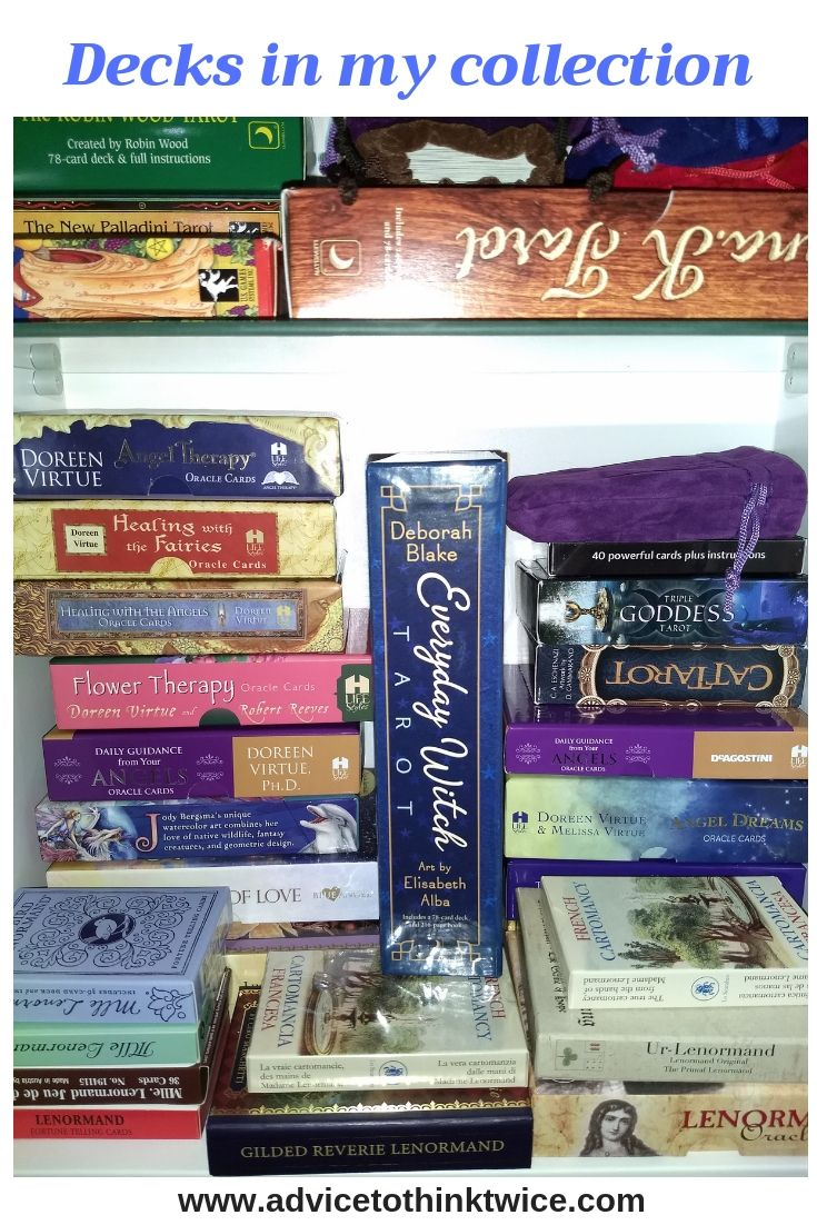 Collecting Tarot and Oracle decks can definitely be