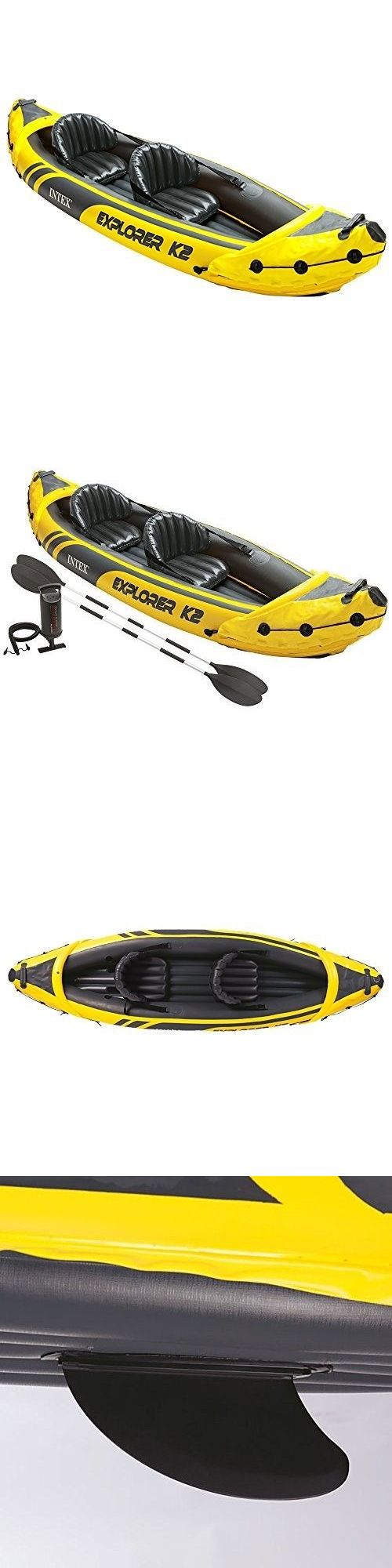 Inflatables 87090: Kayak Set 2-Person Aluminum Paddles Air Pump Inflatable Explorer Boat Water -> BUY IT NOW ONLY: $138.84 on eBay!