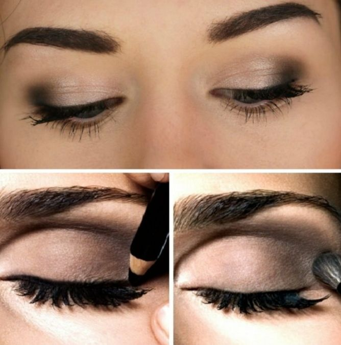 Simple eye makeup tips in hindi