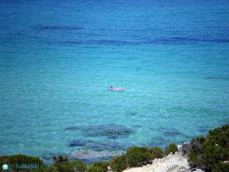 Kavourotripes #beach #Sithonia #Halkidiki  http://gohalkidiki.com  #greeksummer