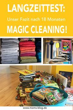 Minimalismus: Mein Fazit nach 18 Monate Magic Cleaning