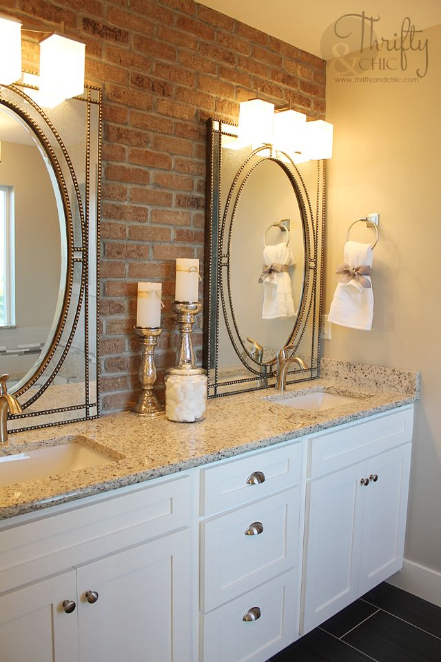 Thrifty and Chic DIY Projects and Home Decor Bathroom