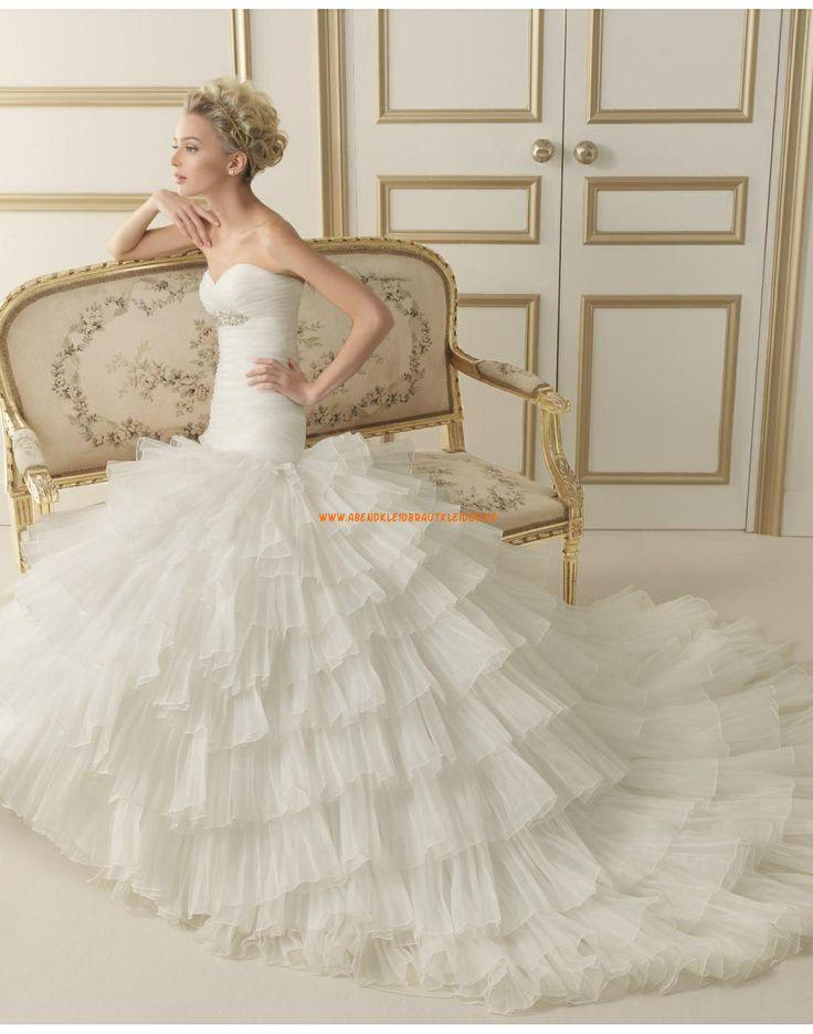 ... Taille Princess-stil Hochzeitskleider 134 EMMA  luna novias 2014