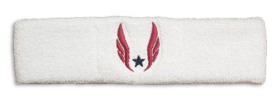 Nike USATF Dri-FIT Headband - White