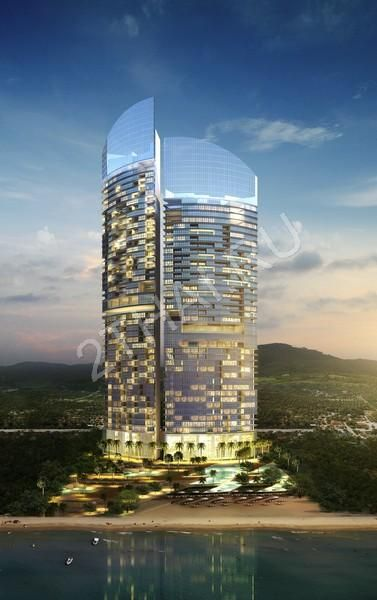 Centara Grand Residence Pattaya - is a high-rise beachfront luxury condominium in Na-Jomtien area. The project consists from  two residential condos (39 and 46 floors) and third tower - five star hotel Centara Grand Hotel. From US$ 176,049.