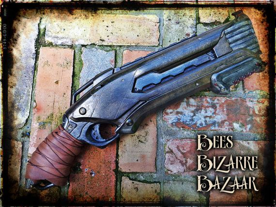 Hey, I found this really awesome Etsy listing at https://www.etsy.com/ru/listing/222107190/steampunk-nerf-gun-shotgun-cosplay