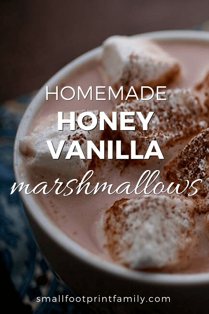 This whole food homemade marshmallow recipe has no artificial colors or flavors, nor any corn syrup or refined sugars. Perfect for hot cocoa by a toasty fire!