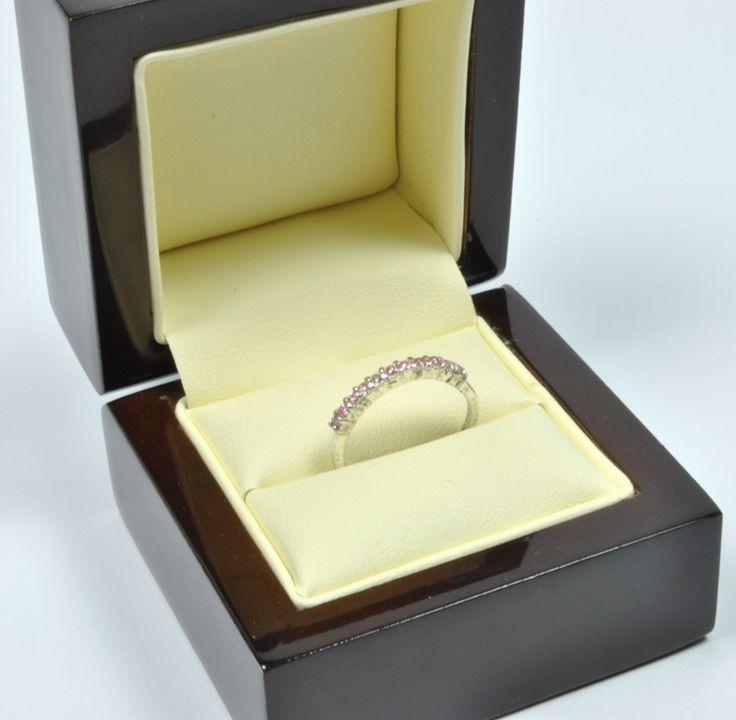 Inel din Argint 925 cu cuart roz