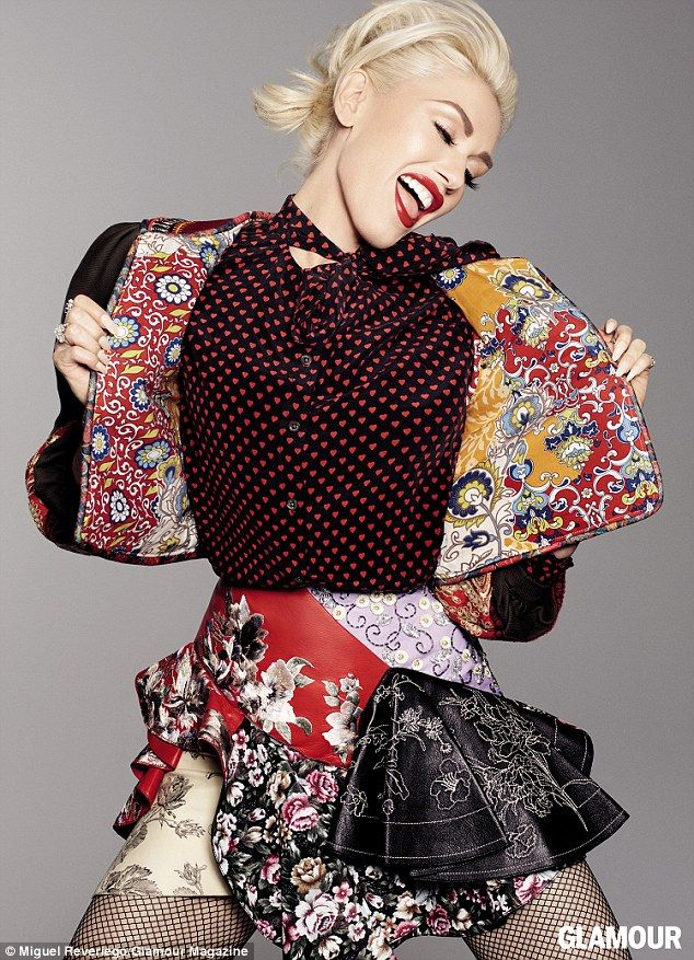 New again: And the No Doubt singer added that she started taking a new look at herself whi...
