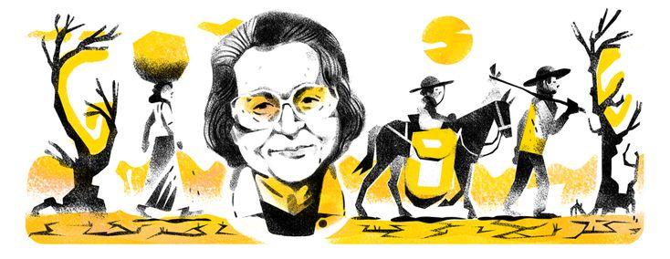 Rachel de Queiroz's 107th Birthday