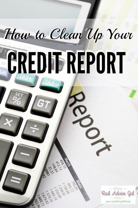 Credit Report Score Tips