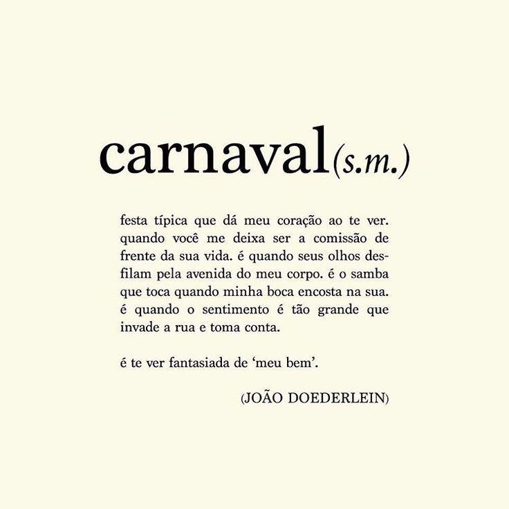 Carnaval vem vindo aí! ✨