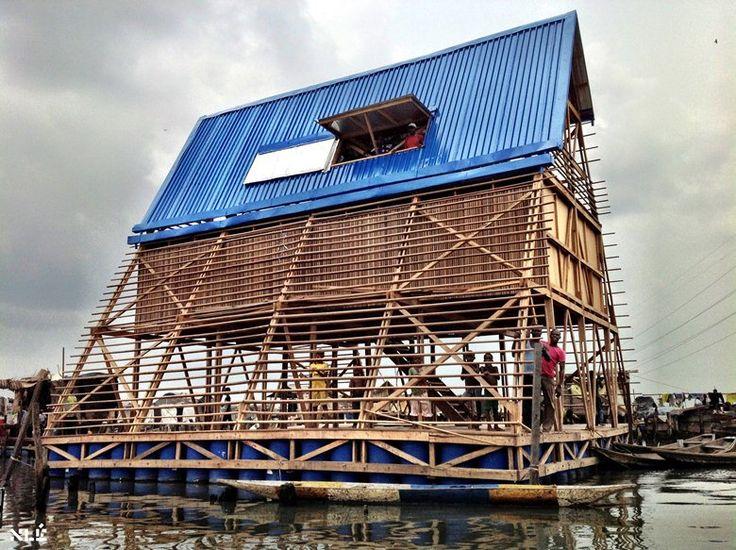 Makoko Floating School, Lagos, 2013 - NLÉ