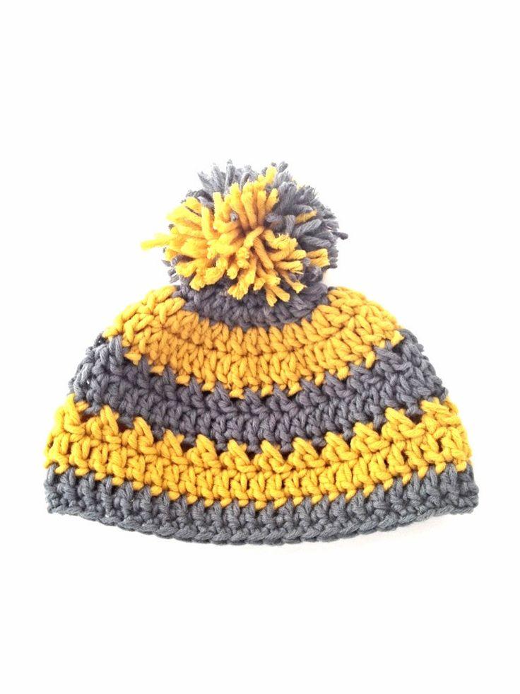 100% Cotton Crochet Beanie Hat Pattern