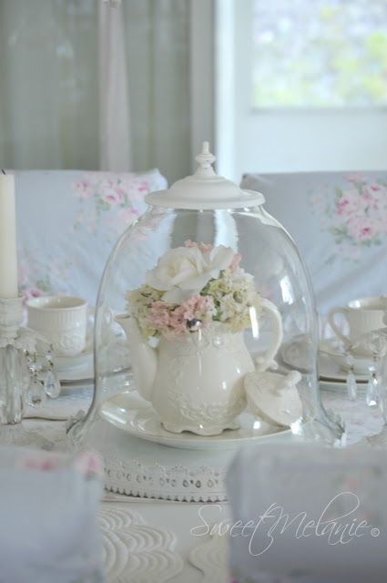 ~Sweet Melanie~: Turning a Vintage light into a Cloche